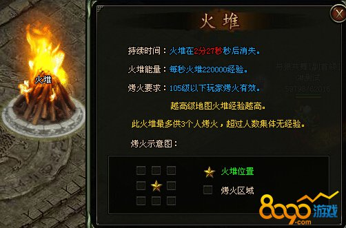 铁血皇城烤火